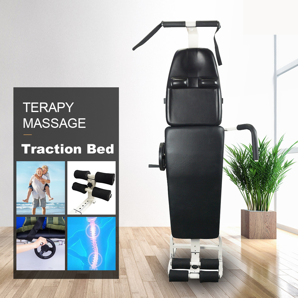Full Body Stretching Device Therapy Bed Massage Table Lumbar Traction Tool For Spine Cervical Stretching Your Body Flexibility