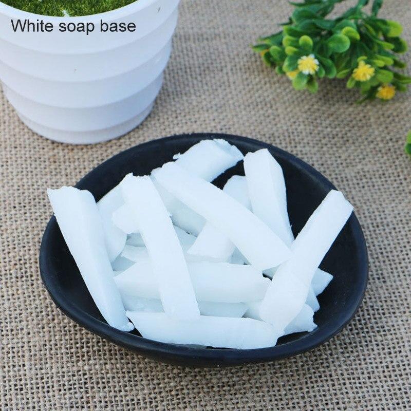 1 пакет, сделай сам, мыло для ручной работы, основа для изготовления мыла, расплавляющее мыло, сырье, подходит для чистки черных точек, прозрачная Мыльная основа, мыльные основы для растений - Цвет: Белый