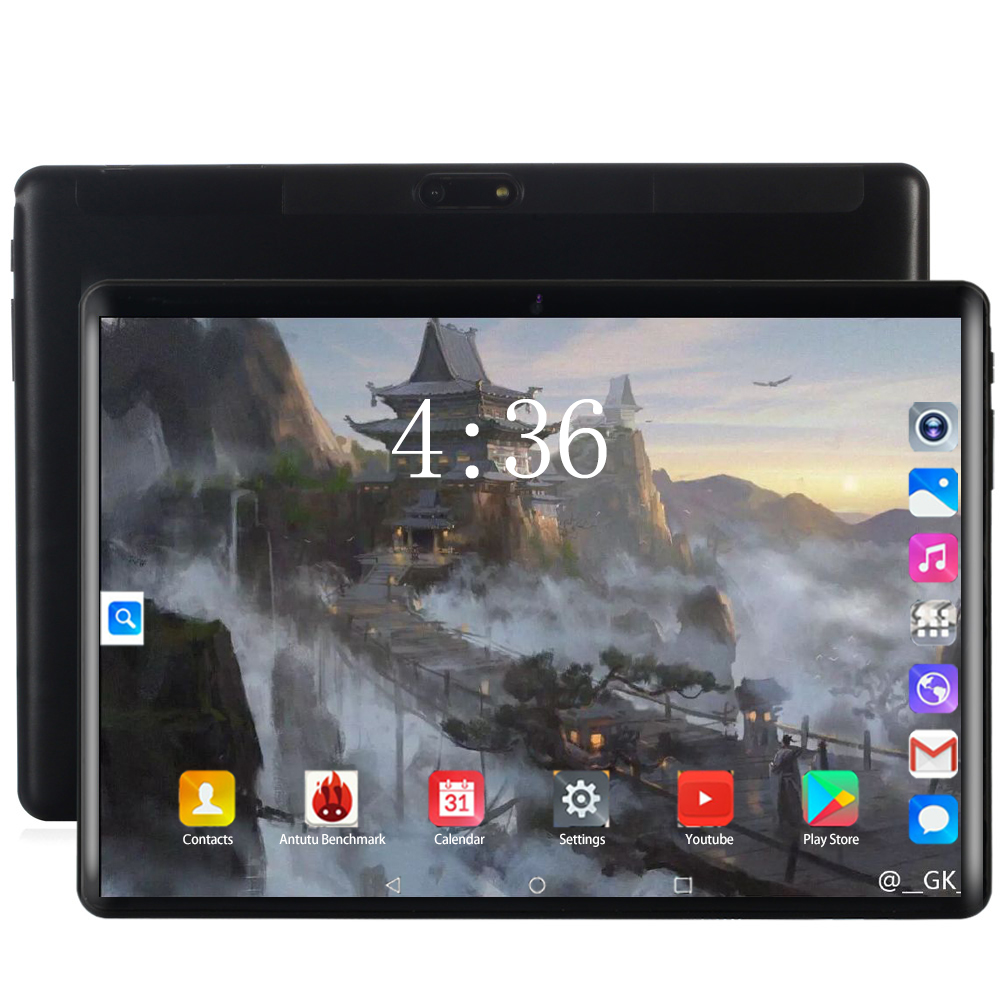 2020 Super Tempered 2.5D Glass Screen 4G LTE Phone 10 Inch Tablet Pc Ten Core 6GB RAM 128GB ROM 1920*1200 IPS Tablet Android 8.0