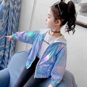 Однотонные куртки для маленьких девочек, пальто, детская весенне-осенняя верхняя одежда для девочек, пальто для девочек 4, 5, 6, 7, 8, 9, 10, 11, 13 лет,...
