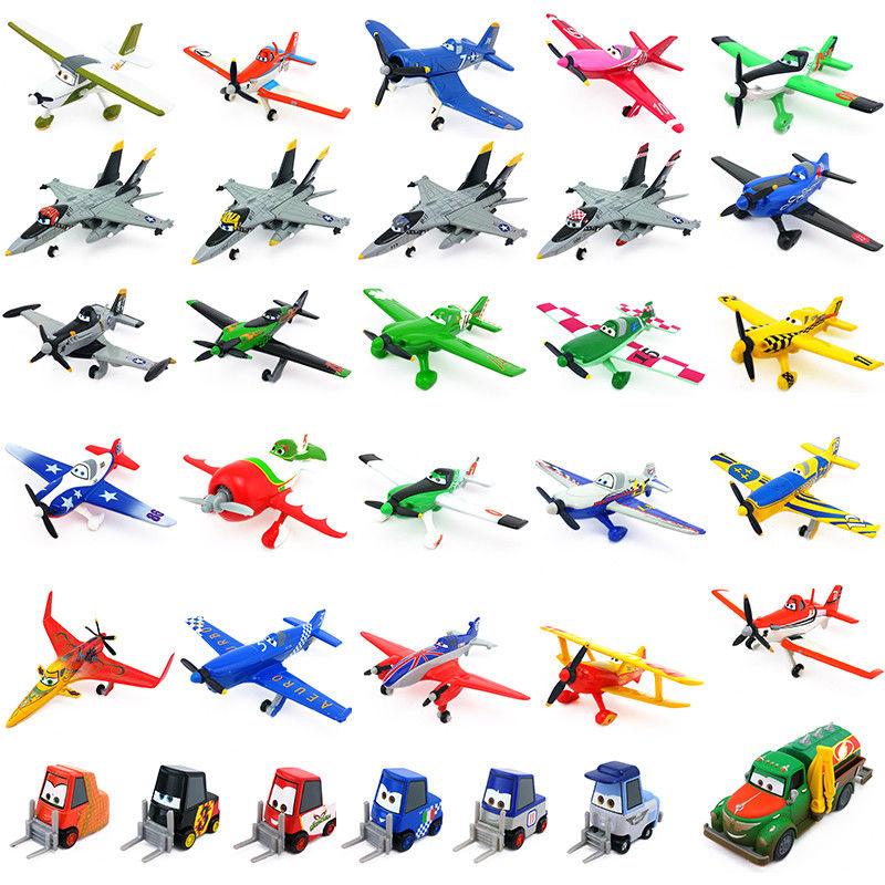 Disney Pixar самолет Дасти Crophopper El chupcabra скиппер Ripslinger металлический Литая самолет детские игрушки для мальчиков