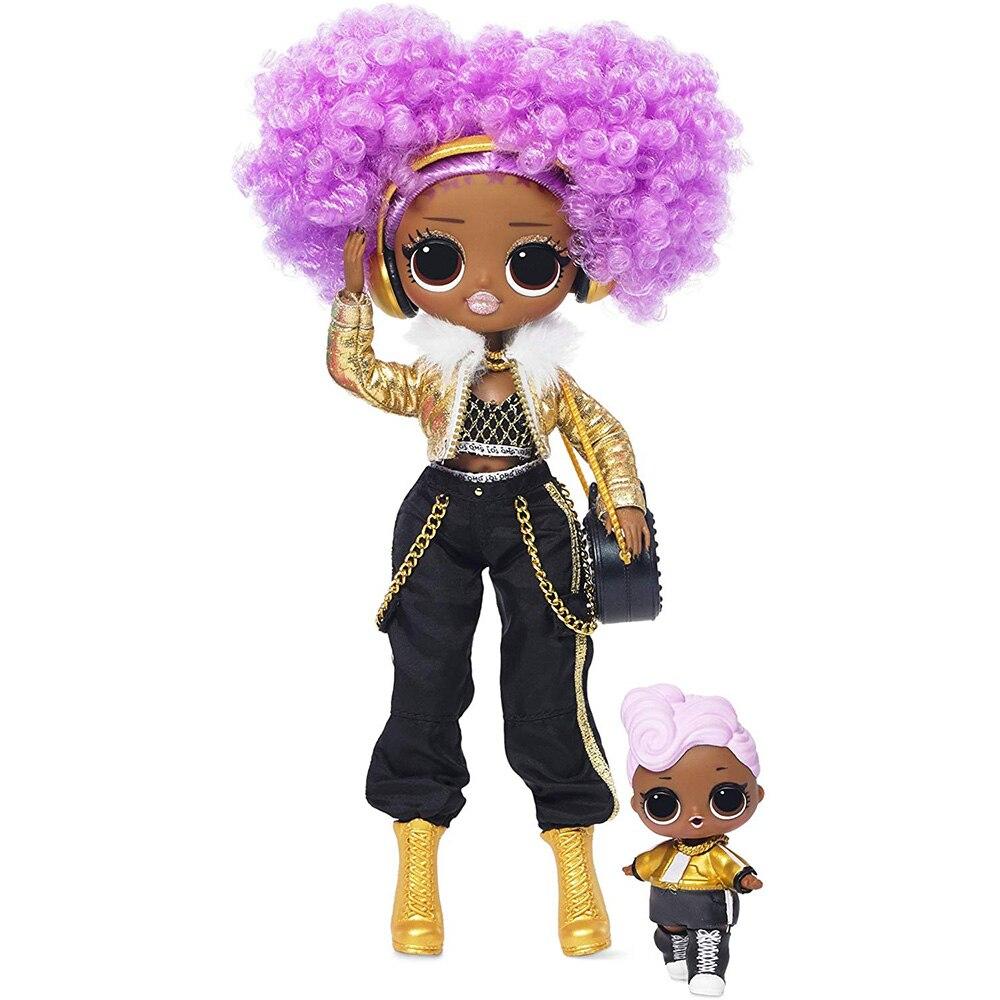 L.O.L Surprise! O.M.G. Winter Disco 24K D.J. Fashion Doll & Sister LOL Doll For Kids Toy