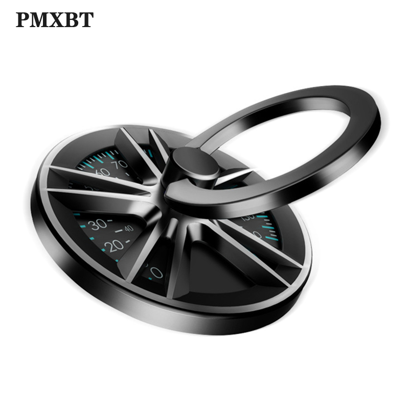 Fun Spin Gyro <font><b>Finger</b></font> <font><b>Ring</b></font> <font><b>Holder</b></font> Rotate <font><b>Metal</b></font> Mobile Phone <font><b>Holder</b></font> <font><b>360</b></font> Rotation Stand For iPhone XS Samsung Phone Hand <font><b>Ring</b></font> Holde image