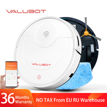 VALUBOT K100 Robot Vacuum Cleaner 1800PA Pet hair household cleaning robot  wet mopping App wireless vacuum  Automatic recharge