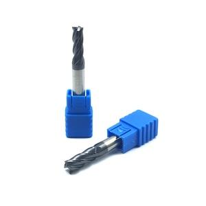 Image 5 - Endmill molinillo de extremo de carburo HRC50, 4 flautas de 4mm, 5mm, 6mm, 8mm, 12mm, acero de tungsteno, cortador de fresado cnc, herramientas de molinillo de extremo