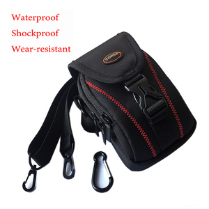 Image 1 - camera bag for Nikon Coolpix A A1000 A900 S9900 W300S W150 for Ricoh GR3 GR2 GRIII GRII G900 W G6 waist bag pouch shockproof