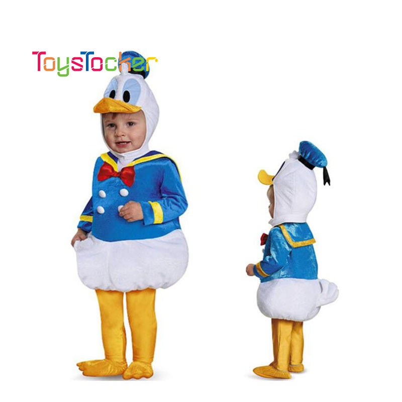 Kids Christmas Cosplay /Donald Duck/Costumes New YearOutfit Dress Party For Boys Girl Xmas /Birthday Clothing