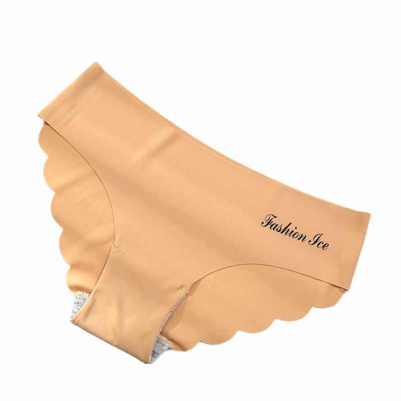 Slipje Voor Vrouwen Naadloze Panty Set Effen Onzichtbare Ondergoed Sexy Lage Taille Slips Vrouwen Underpants Lingerie Dropship 3 Pcs