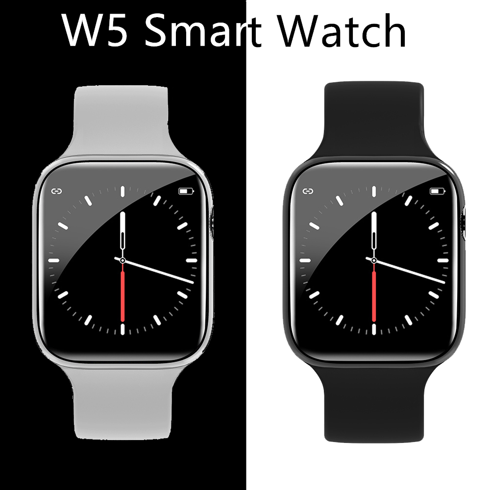 <font><b>W5</b></font> <font><b>Smart</b></font> <font><b>Watch</b></font> Bluetooth Smartwatch 2020 Men Women Heart Rate Monitor Waterproof Intelligent <font><b>Watches</b></font> Sport Fitness Tracker Wrist image