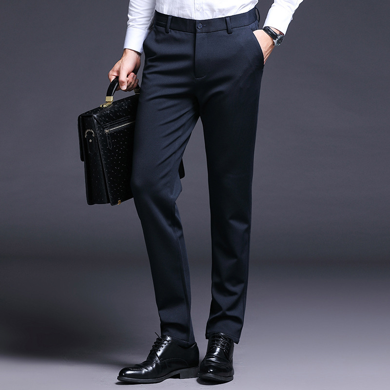 PLAYBOY Fashion Men Business Casual Simple Fashion Casual Pants Men's
