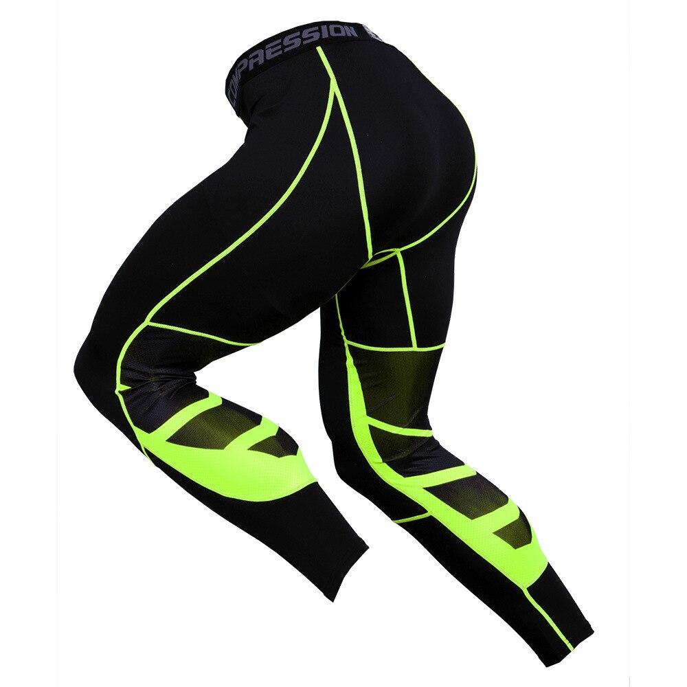 Компрессионные брюки, мужские тренировочные спортивные трико для фитнеса и бега, штаны для бега в тренажерном зале, мужские брюки, спортивн...