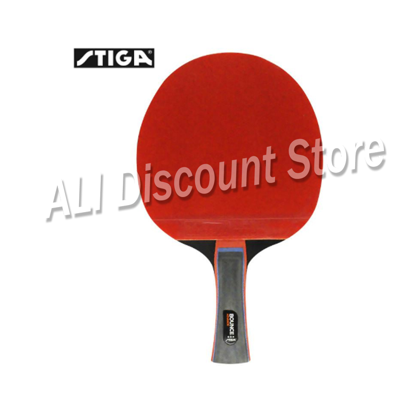 Genuine Stiga PRO BOUNCE Quality 3 Stars Table Tennis Racket Ping Pong Paddle Pimples In Rackets Shakehands FL/CS