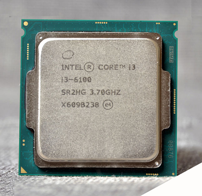 <font><b>Intel</b></font> Core i3-6100, I3 6100 3 MB Cache, 3.70 GHz, LGA1151 <font><b>CPU</b></font> Processor support memory image