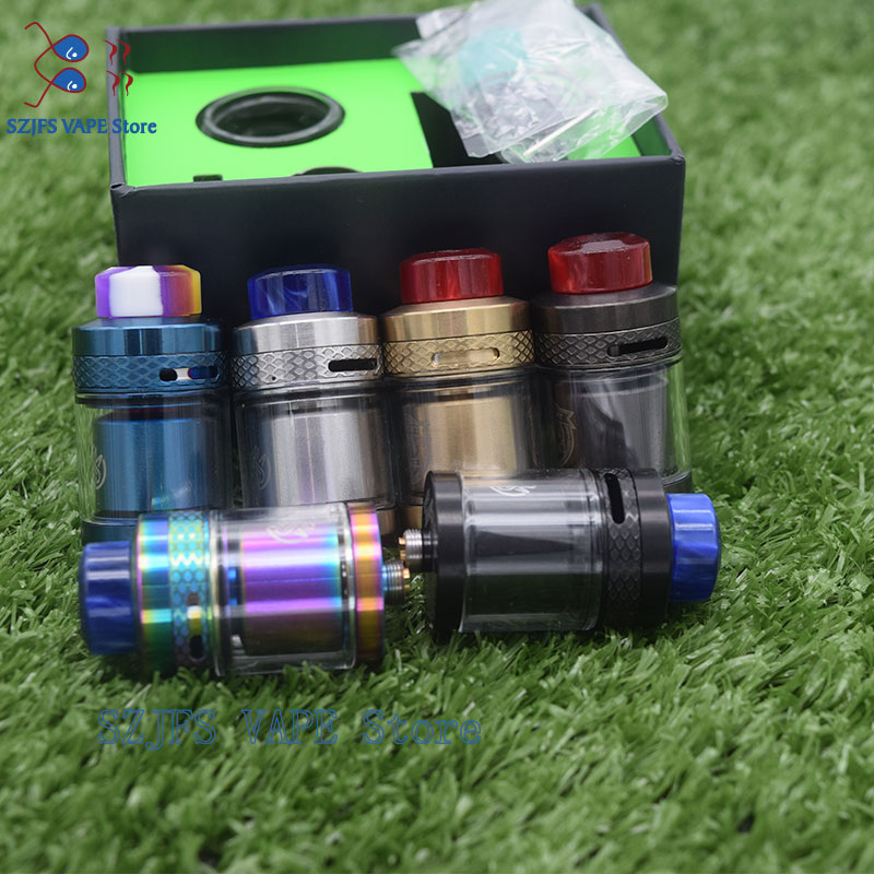 Apocalypse Rta Snake Mtl Rta 3.5ml Capacity Adjustable Top Airflow 24mm Diameter MAGE Kylin V2 RTA M Zeus X Profil Taifun GTR