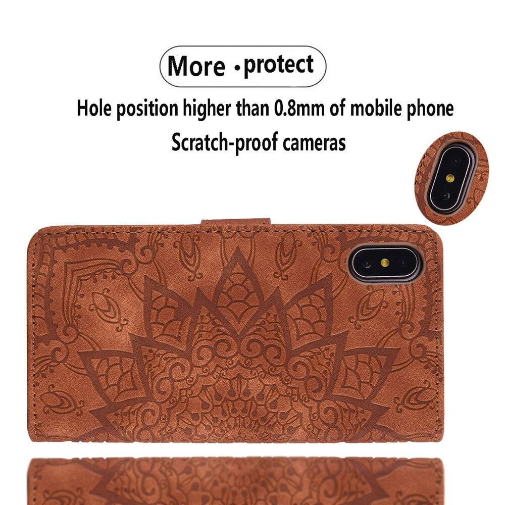 H3647d0f3b66645ac8d1de169b63206c4s Matte Leather Phone Case For Samsung Galaxy A50 A70 A30 A40 A20 A10 A10E A20E A10S A20S A30S A50S Flip 3D Mandala Book Case