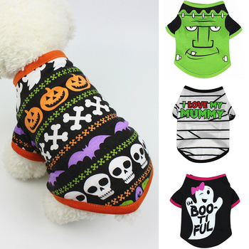 Halloween Pet Dog Clothes for Dogs Pets Clothing Small Medium Dog Summer Pet Hoodies for Dogs Costume Puppy Cat Clothing 519725 hot pets dog hoodies puppy coats jackets for chihuahua maltese cat costume dogs clothes ropa para perros xs xxl clothing