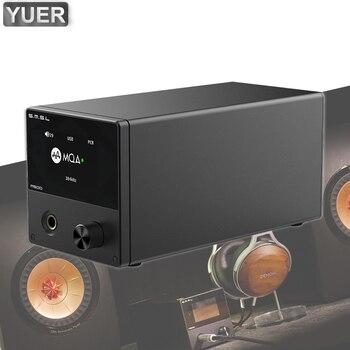 M500 XMOS XU-216 Hi-Res Audio Decoder And Headphone Amplifier Supports MQA D/A chip ES9038PRO Professional DJ Music Equipment tiancoolkei wl01 a professional professional headphone amplifier hifi bass phone headset audio amplifier
