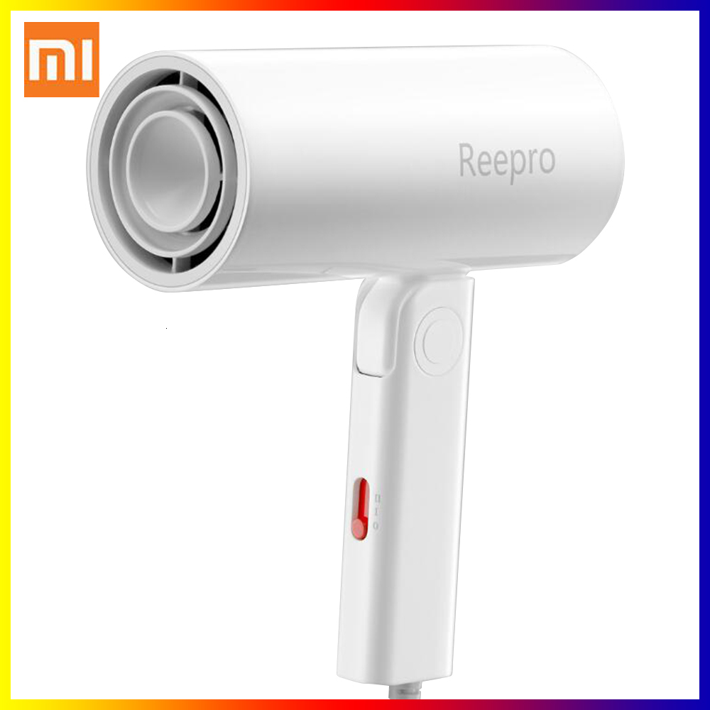 Xiaomi Youpin Reepro 1300W Professional Hair Dryer Folding Handle Hairdressing Barber Blow Dryer From Smart Home Appliances