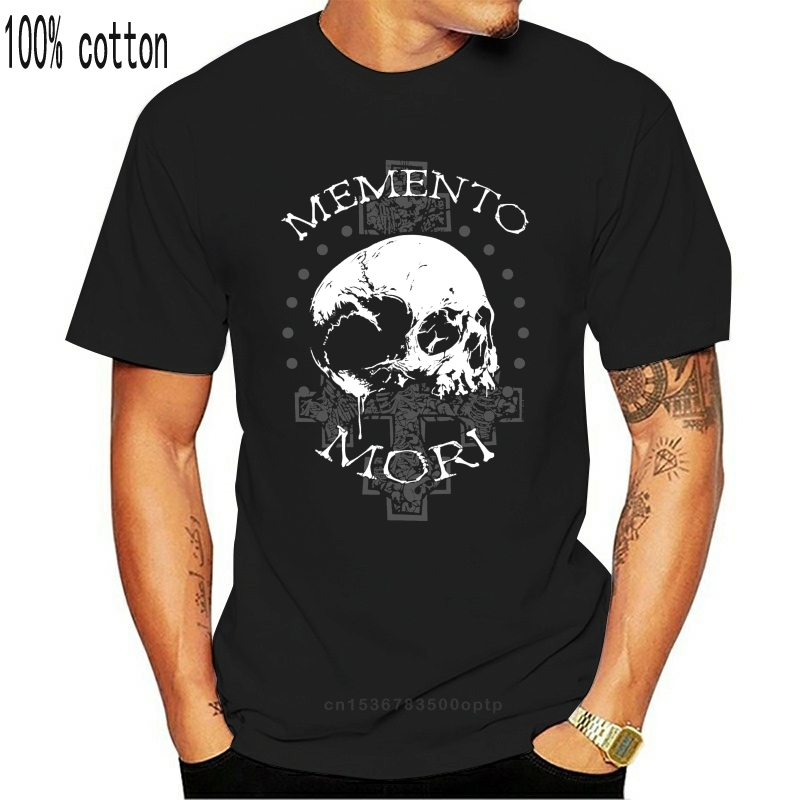 T-shirt Memento Mori Premium Men/'s Black