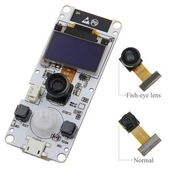 TTGO T-Camera ESP32 WROVER & PSRAM Camera Module ESP32-WROVER-B OV2640 Camera Module 0.96 OLED for Arduino