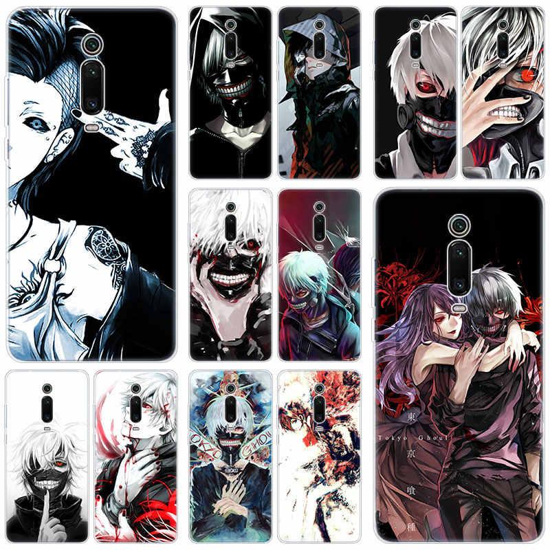 Anime Tokyo Ghoul Custodia In Silicone Per Xiao mi mi nota 10 9T CC9 E 9 Pro A3 Lite GIOCO rosso mi nota 8T 8 8A 6 Pro 6A 4X MODO Della Copertura