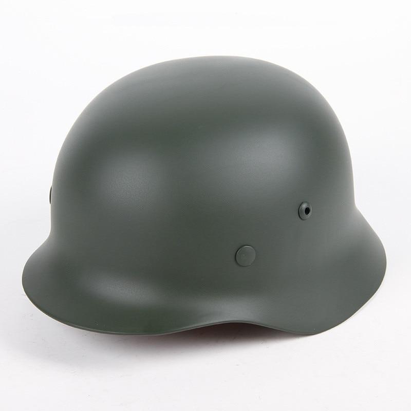 German War All Steel Helmets Army Green Black Gray Steel Helmet Army Outdoor Activities M35 Helmet Safety Helmet WW2 World War 2