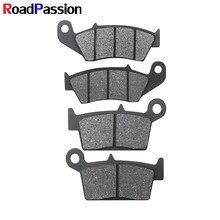 Передние и задние тормозные колодки для HONDA CR250 CR250R CR500 CR125 CR 125R 250R 500 XR250 XR400 XR 250 400 XR600R XR650L CRF 230 CRF230