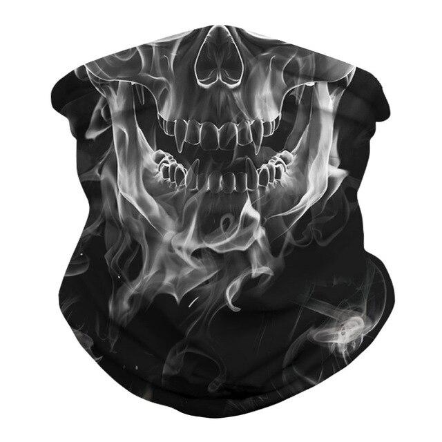 Skull Bandana Face Mask  2
