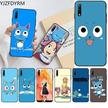 Happy Felice Fairy Tail Phone Case for Huawei Honor 30 20 10 9 8 8x 8c v30 Lite view pro image