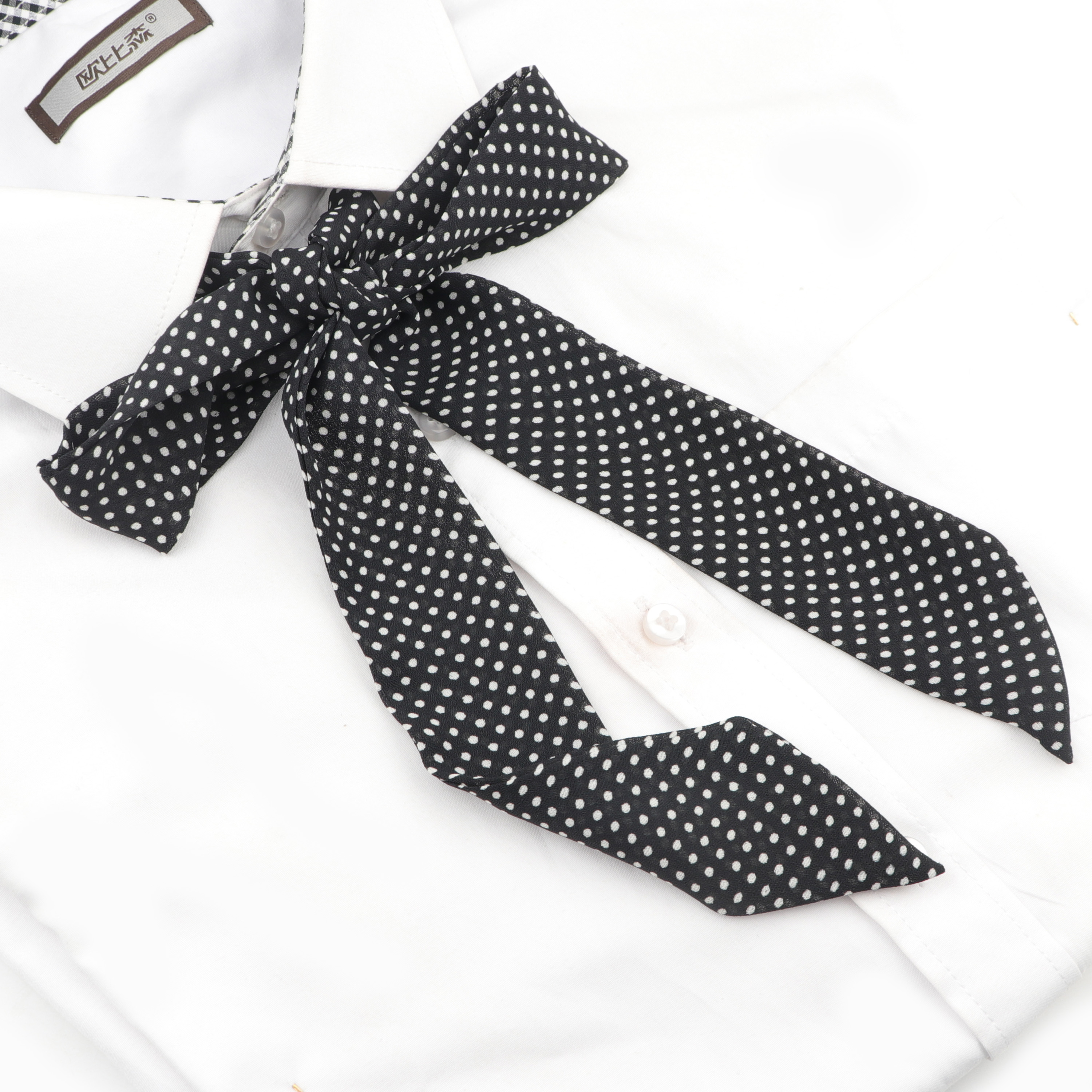 1PC Hot Women Girls Silk Bow Ties Chiffon Lithe Ribbons Striped Butterfly Bowties Cravat Vintage Neck Wear Accessories