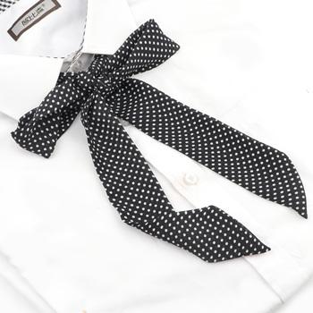 1PC Hot kobiety dziewczęta jedwabne muszki szyfonowa Lithe wstążki w paski motyl muszki krawat Vintage Neck Wear akcesoria tanie i dobre opinie WOMEN Moda Poliester Dla dorosłych Krawaty Muszka 145*5CM Stałe