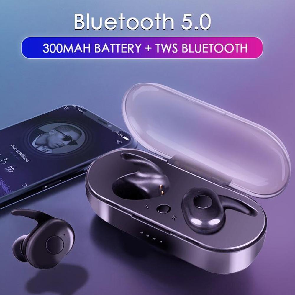 Tws4 Waterproof Bluetooth Earphones 5 0 Edr Sports Tws Earbuds With Charger Case Wireless Earphone For Mobile Phone Bluetooth Earphones Headphones Aliexpress