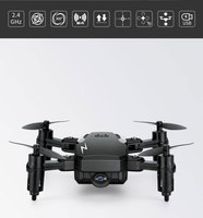 Folding Mini Four axis Aircraft WiFi HD Aerial Real time Transmission RC Helicopters VS FPV Image Sync Cool Toys Gift for Kids