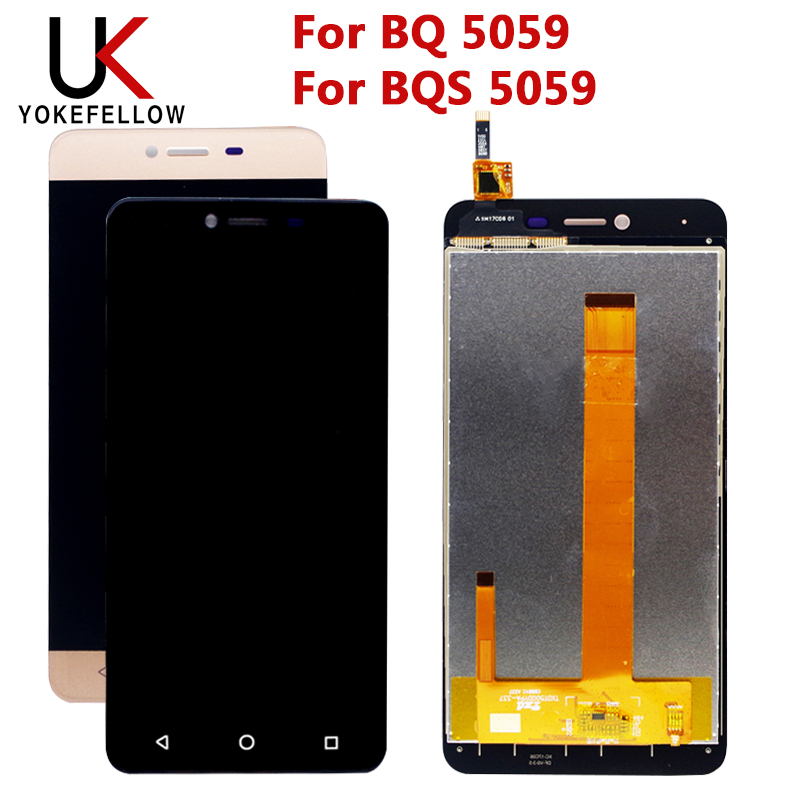 LCD Display For BQ BQS 5059 BQ5059 Strike Power BQS-5059 LCD Display Screen With Touch Screen Digitizer