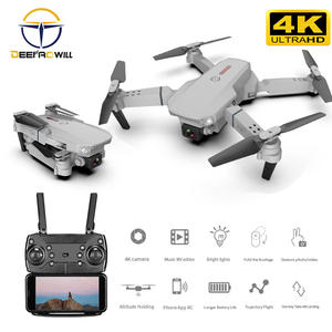 Rc-Drone Toys Camera Profesional Quadrocopter E88 Pro 4K with HD Gift 1080P