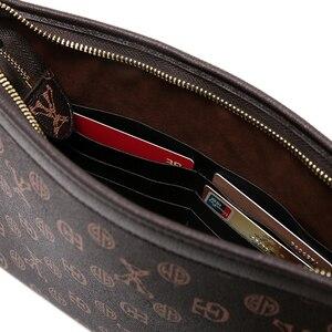 Image 4 - Tidog sac à main pour hommes, sac classique business décontracté, pochette pour IPAD