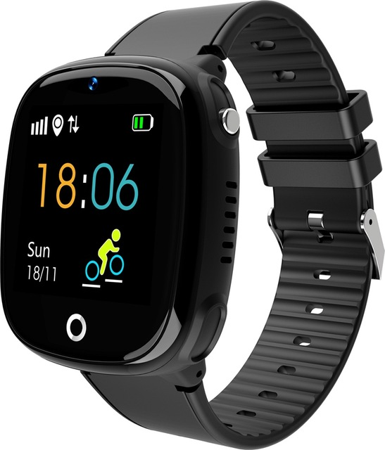 HW11 Smartwatch Children Family Bluetooth Pedometer IP67 SmartWatch Waterproof Wearable Device GPS SOS Call Kids Safe Kids Gift image