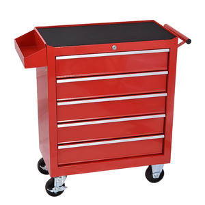 Box Toolkit-Cabinet Trolley Workshop Mobile-Multi-Functional 5-Drawer-Storage-Tool DA-25