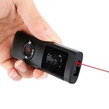Mini Laser Rangefinder 40M Laser Distance Meter Laser Tape Roulette Measure Metro Rangefinder Range Finder With Backlight ls 1 mini laser rangefinder 40m laser distance meter digital lcd intelligent laser tape roulette measure metro rangefinder tool
