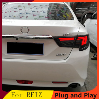 Car Styling for To yota Reiz Taillight assembly 2013-2017 Mark X LED Tail Light Rear Lamp DRL+Brake+Park+Signal+Reversing light