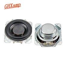 GHXAMP 2 นิ้วFull Rangeลำโพง 8ohm 10W NeodymiumลำโพงบลูทูธDIY 52 มม.ลำโพงความถี่เต็มรูปแบบขอบยาง 2PCS