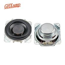 GHXAMP 2 inch Full Range Speaker 8ohm 10W Neodymium Bluetooth Speaker DIY 52mm Full Frequency Loudspeaker Rubber Edge 2PCS