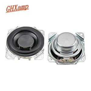 Image 1 - GHXAMP 2 inch Full Range Speaker 8ohm 10W Neodymium Bluetooth Speaker DIY 52mm Full Frequency Loudspeaker Rubber Edge 2PCS
