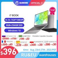 ALLDOCUBE i7 Book portátiles 14,1 pulgadas 8GB Ram 256GB SSD Windows 10 Notebook Intel®Core™Procesador de i7-6660U, 1920x1080, IPS, portátil