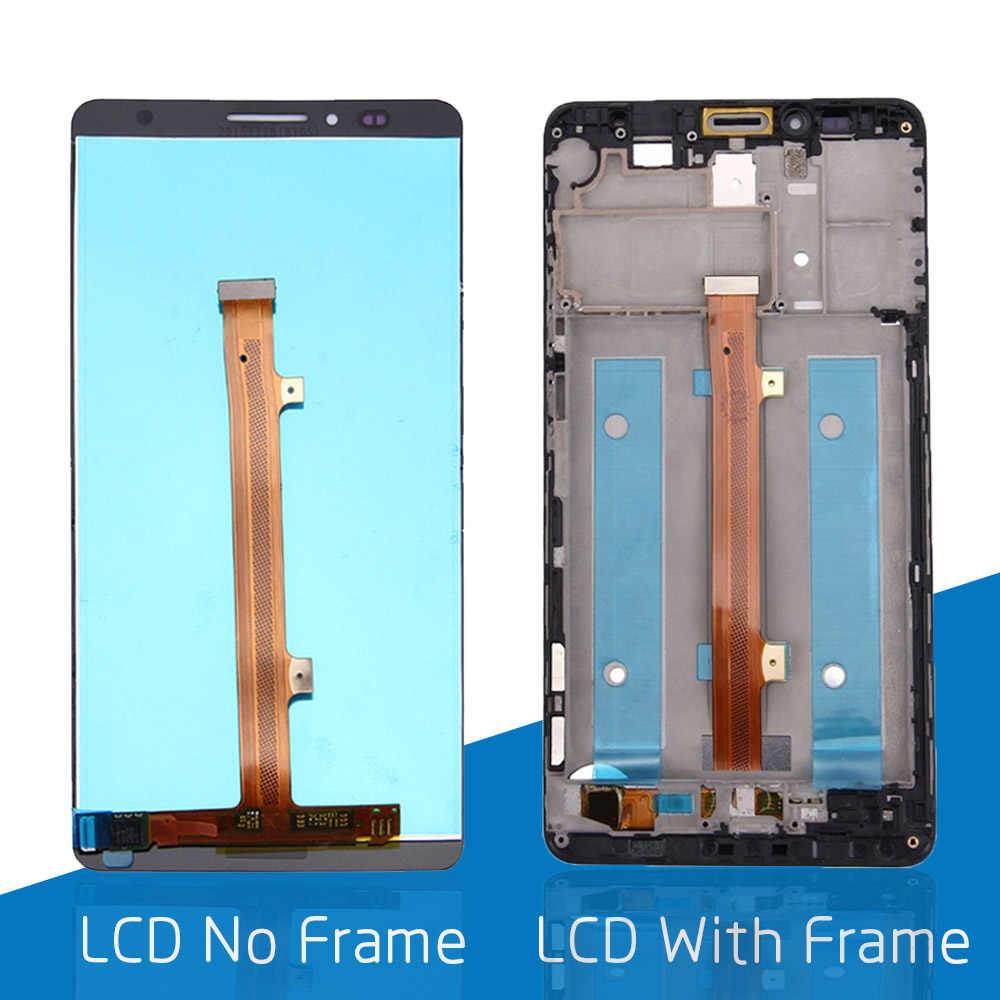 6.0 for for para huawei companheiro 7 display lcd ips lcd tela de toque com quadro digitador substituição MT7-TL00 para companheiro 7 display lcd peças