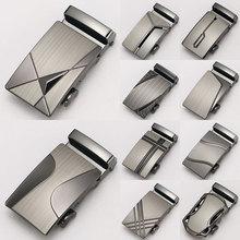 1шт мода мужчины бутик лазер технология сплав металл автоматический ремень пряжка высокое качество ограниченное посадка 3,5 см пояс аксессуары