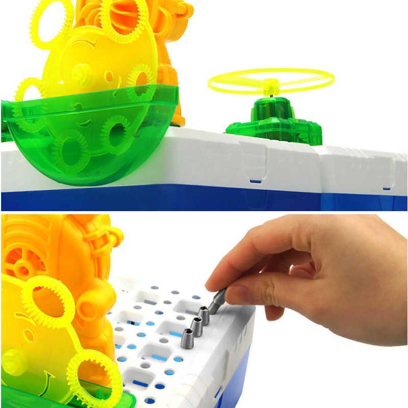 DIY Electric Splashing Fountain Science Kit Kids Early Educational Toy