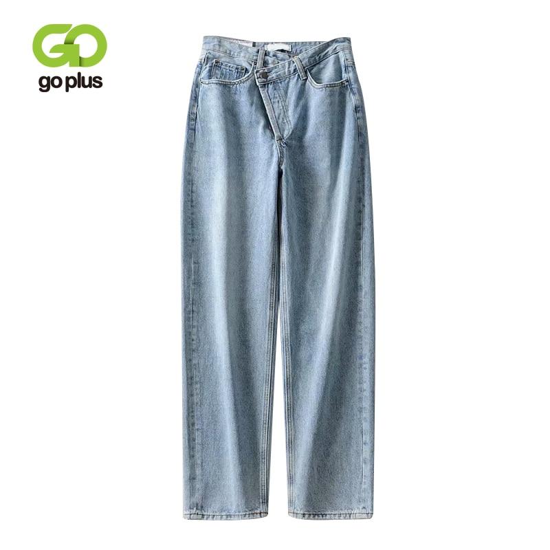 GOPLUS Jeans Korean Style Women High Waist Denim Harem Pants Streetwear Black Mom Jeans Vaqueros Mujer Vaqueros De Mujer C9721