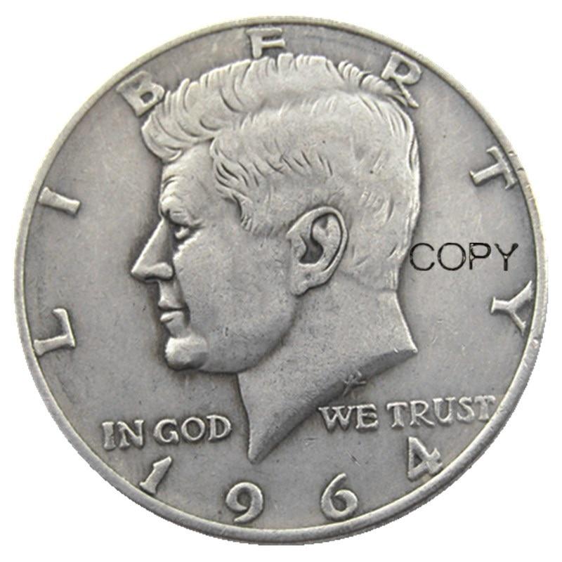 Посеребренные монетки Кеннеди, 1964