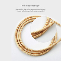 cable samsung 3A Micro USB cable 3M fast charging nylon USB data cable for Samsung xiaomi redmiCable Android adapter charger cable (5)
